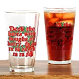 CafePress - Deck The Harrs - Christmas Story Chinese Drinking - Pint Glass, 16 oz. Drinking Glass