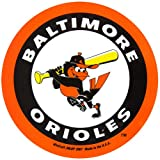 Baltimore Orioles Official MLB 4.5 inch x 6 inch Car Magnet by Wincraft