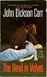 The Devil in Velvet, John Dickson Carr, 0881843288
