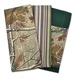 DII 100% Cotton, Machine Washable, RealTree Camo Kitchen Dishtowel Gift Set, Includes 3 Different Designed Dishtowels, 18 x 28