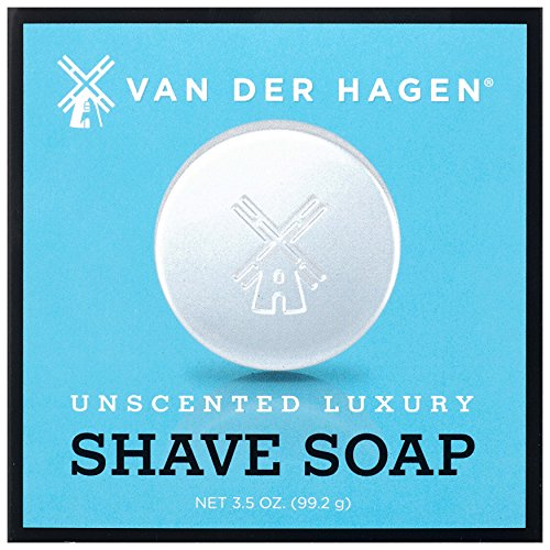 Van der Hagen Men's Luxury Unscented Shave Soap - 3.5 ()