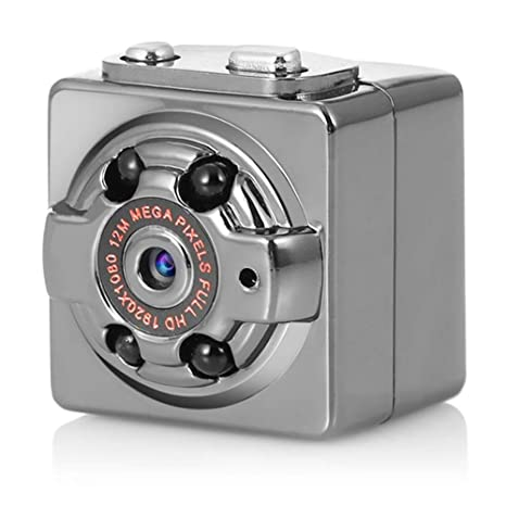Amazon.com: Mini cámara espía WiFi Cámara oculta SQ8 ...
