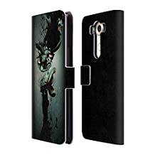 "Official Pete ""Aeiko"" Harrison Advent Nature And Fantasy Leather Book Wallet Case Cover For LG Nexus 5X"