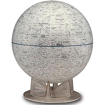 Amazon Com S Amp T 12 Quot Mars Globe On Acrylic Stand Toys Amp Games