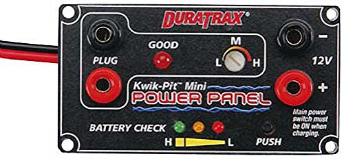 Duratrax Kwik-Pit Mini Power Panel 12V DC (Panel Glow Starter Box)