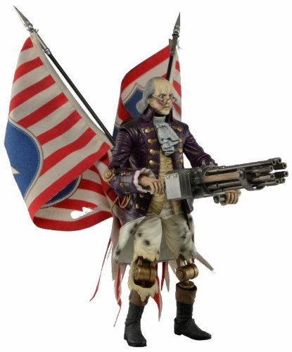 Bioshock Infinite / Benjamin Franklin Heavy hitters Motor Patriot 9 inches Action Figure