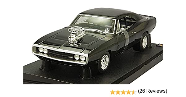 Hot Wheels 1/18 Scale Metal Model - Fast & Furious - Doms 1970 Dodge Charger: Amazon.es: Juguetes y juegos