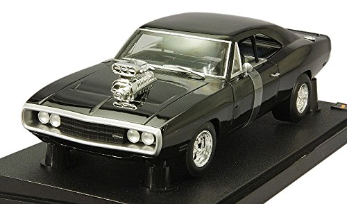 Hot Wheels Collector The Fast and the Furious 1970 Dodge Charger Die-cast Vehicle (1:18 Scale) ()