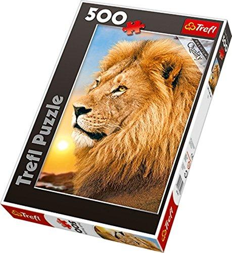 Trefl Lion Jigsaw Puzzle (500-Piece)