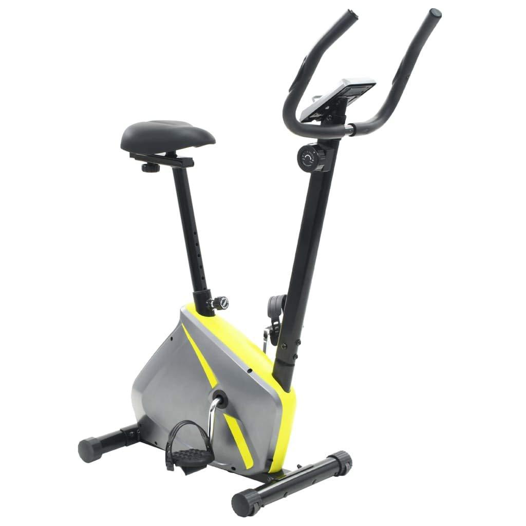 VidaXL Heimtrainer 5kg 100kg Drehmasse Hometrainer Ergometer Fitness Fahrrad