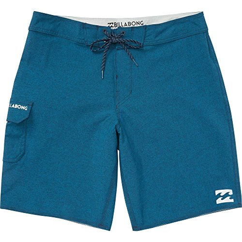 Billabong Men's All Day Stretch Boardshorts, Navy Heather Solid, (Billabong Mens Boardshorts)