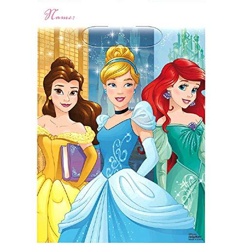 Plus Party Planning Checklist by Mikes Super Store Cinderella 16 Pack Belle Party Plastic Loot Treat Candy Favor Bags Princess Aurora Princess Dream Big Disney