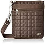 Lug Skipper Shoulder Pouch, Chocolate Brown