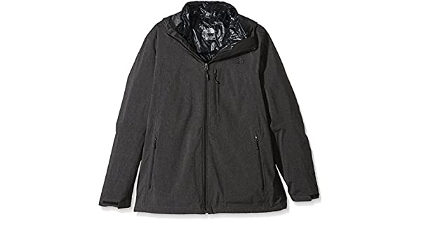 The North Face Doppeljacke Thermoball Triclimate Chaqueta-Hombre, Negro, XXL: Amazon.es: Deportes y aire libre
