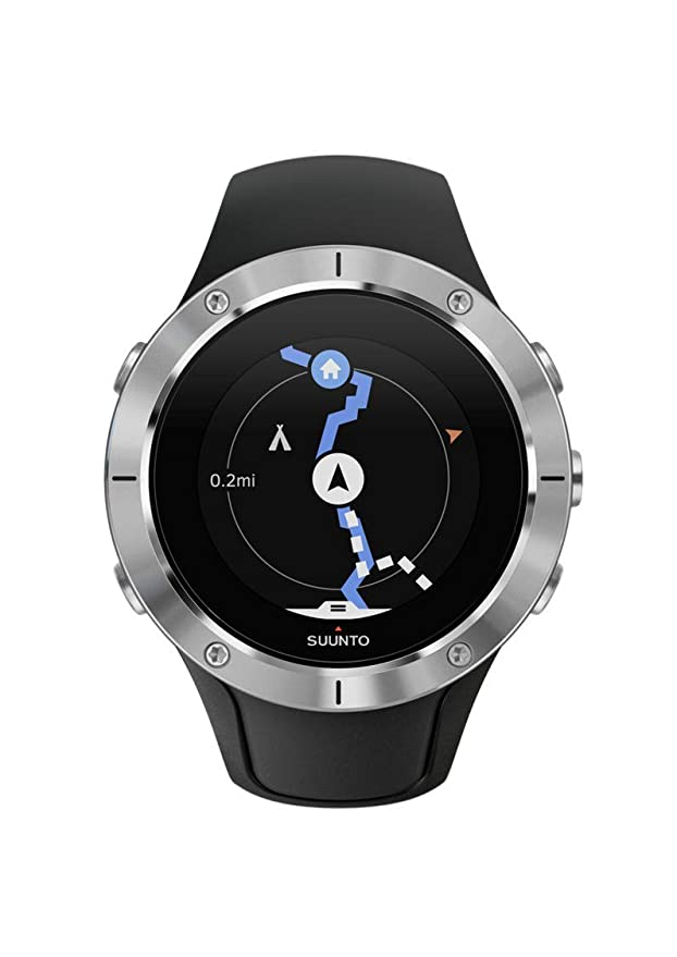 Amazon.com: Suunto Spartan Trainer Wrist HR Multisport GPS Watch (Steel): GPS & Navigation