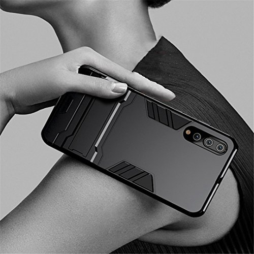 Rigide Pro pc Armour Kickstand huawei Choc Etui Huawei Bleu Anti Protection P20 Tpu Coque p20 Pour Housse P20 Noir Avec 1 Hybride Back P20 Bumper Case Pro 2 En Cover ZBYpq