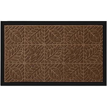 Amazon.com: Textures Crosshatch Entrance Door Mat, Chocolate, 2-Feet ...