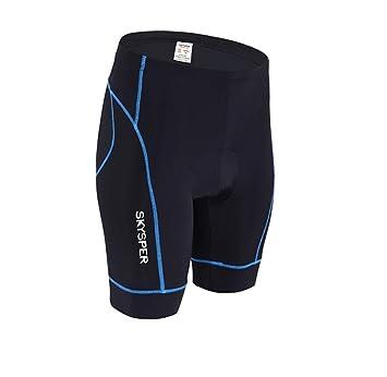 SKYSPER Pantalones Cortos De Ciclismo, Ropa Interior De Ciclismo, Pantalones Cortos De Ciclismo Ropa