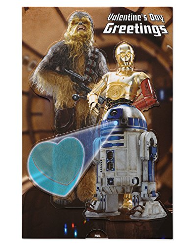 American Greetings Star Wars Valentine's Day Card with -