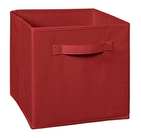 ClosetMaid 1838 Cubeicals Fabric Drawer, Garnet