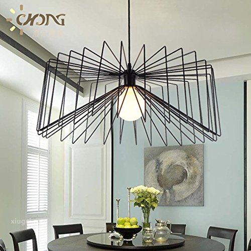 WYMBS Creative Arts spider web style modern aisle loft warehouse restaurant lounge bar-cafe chandelier study bedroom , American 00MM Village ()