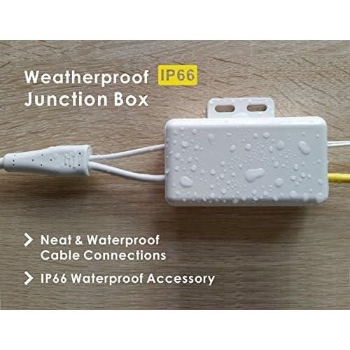 Waterproof Metal Accessory for Phylink Bullet HD Network Security Camera,Weatherproof Junction Box