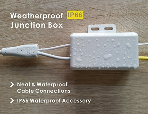 Waterproof Metal Accessory for Phylink Bullet HD Network Security Camera,Weatherproof Junction Box