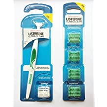 Listerine ULTRACLEAN Access Flosser with 36 Refills, Mint Flavored