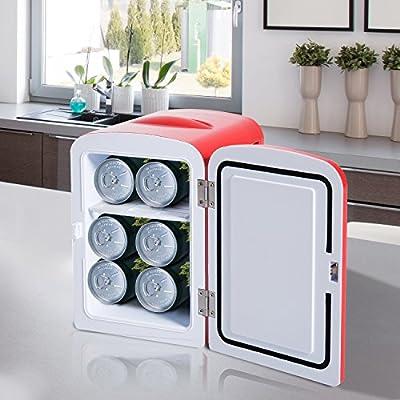 Homcom Mini nevera multifuncional frío cálido Capacidad 4L Camera ...