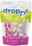 Dropps HE Scent Laundry  Booster Pacs with In-Wash Softener and Enhancer, Wild Orchid, 16 Counts (Pack of 6)