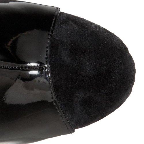 Pleaser Women's Delight-699 Platform Sandal Black Patent J86kGegbbJ