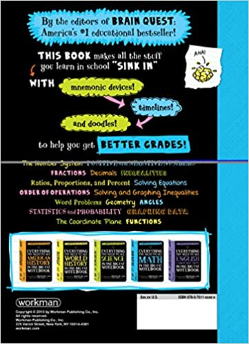 Everything You Need to Ace Math in One Big Fat Notebook: The ...