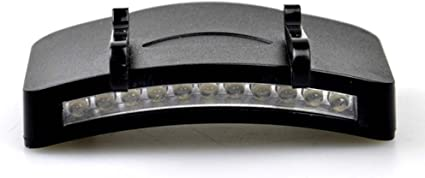 11 LED Headlight HeadLamp Flashlight Cap Hat Torch Head Light Lamp Outdoor Fishi