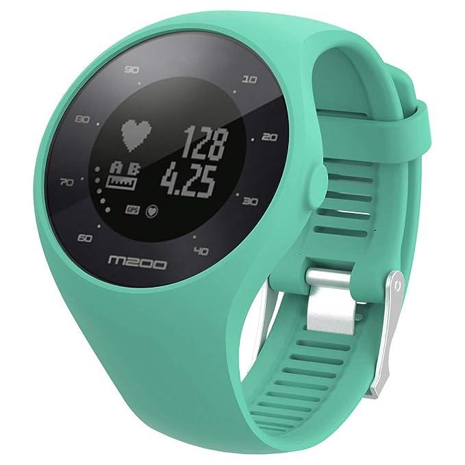 ❀ para el Reloj Polar M200 Fitness, Correa de muñeca de Caucho Suave de Silicona Correa de Reloj Absolute: Amazon.es: Ropa y accesorios