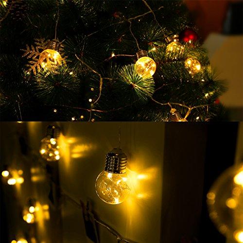 LE G45 LED Globe String Lights LED Bulbs , 20ft Waterproof - Import It All