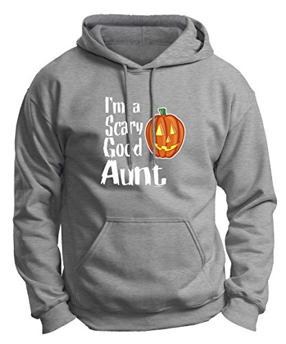 Aunt Halloween Costumes for Aunt Halloween Gifts for Aunt I'm a Scary Good Aunt Premium Hoodie Sweatshirt Small LtStl