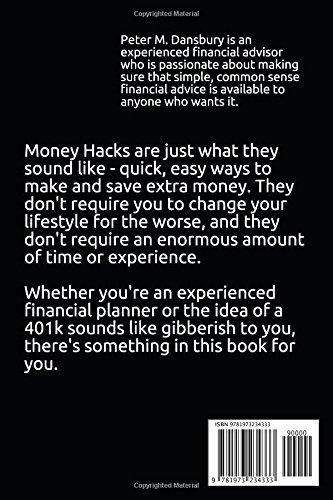 Money Hacks: 41 Ways to Make Money by Saving Money: Peter Michael
