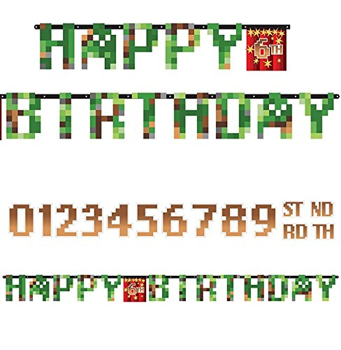 TNT Party! Jumbo Add-an-Age Happy Birthday Letter