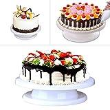 Cake Stand - Yookat Revolving Cake Decorating Stand/ Cake Decorating ...