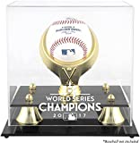 Houston Astros 2017 MLB World Series Champions Golden Classic Logo Baseball Display Case - Fanatics Authentic Certified