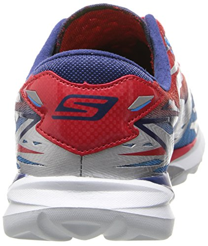 SkechersGo Meb Speed 3 - Zapatillas de running mujer Plateado - Silver (Silver/Blue/Red)