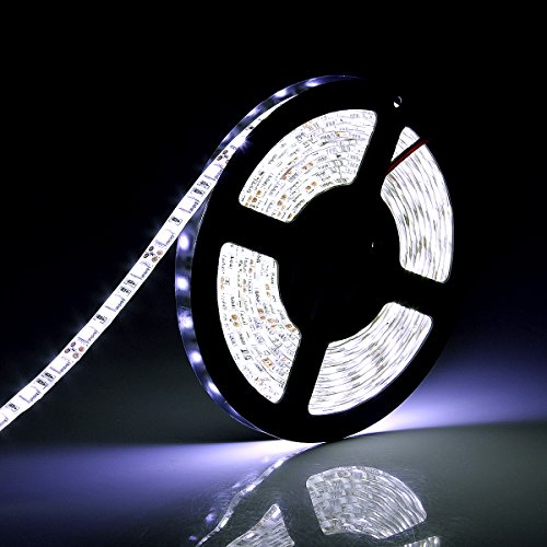 5M Flexible White Led Light Strip 12 Volt 300 Smd in US - 4