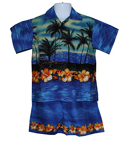 Made in Hawaii ! Boy's Assorted Hawaiian Aloha