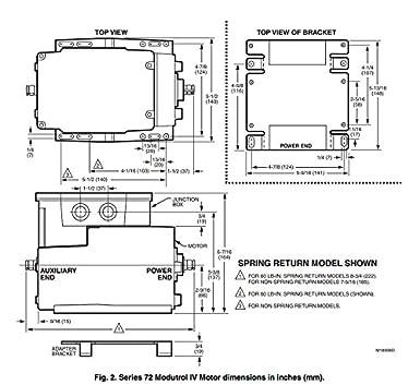Awe Inspiring Honeywell Inc M7285C1009 60 Lb In Modutrol Iv Motor 120V Wiring Cloud Venetbieswglorg