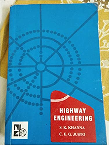 transportation engineering khanna and justo text book download