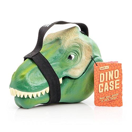 Suck.UK SK BOXDINO1 Suck UK-Kids Lunch Box | Toy Storage | Bedroom Decor & Organization | Dinosaur Case, 9.3 x 4.9 x 6.5 in in, -