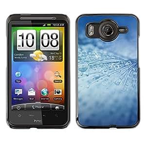 MOBMART Carcasa Funda Case Cover Armor Shell PARA HTC G10 - Icy Rain Drops Strings