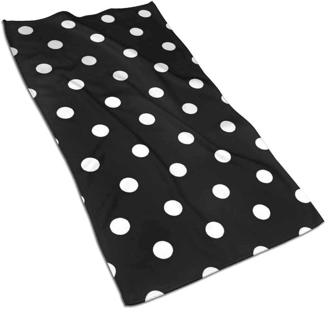 Polka Dot Kitchen Towels ¨C 17.5X27.5in Microfiber Terry Dish Towels for Drying Dishes and Blotting Spills ¨CDish Towels for Your Kitchen Decor