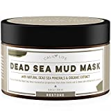 #7: Calily Life Organic Dead Sea Mud Mask - Organic Deep Skin Cleanser - Face and Body Treatment - Eliminates Acne, Wrinkles, Cellulite - Cleanses Pores, Rejuvenates Skin for Youthful Glow