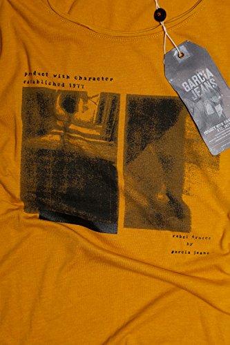 Garcia S60017-2016 Damen T-Shirt Fresh Mustard